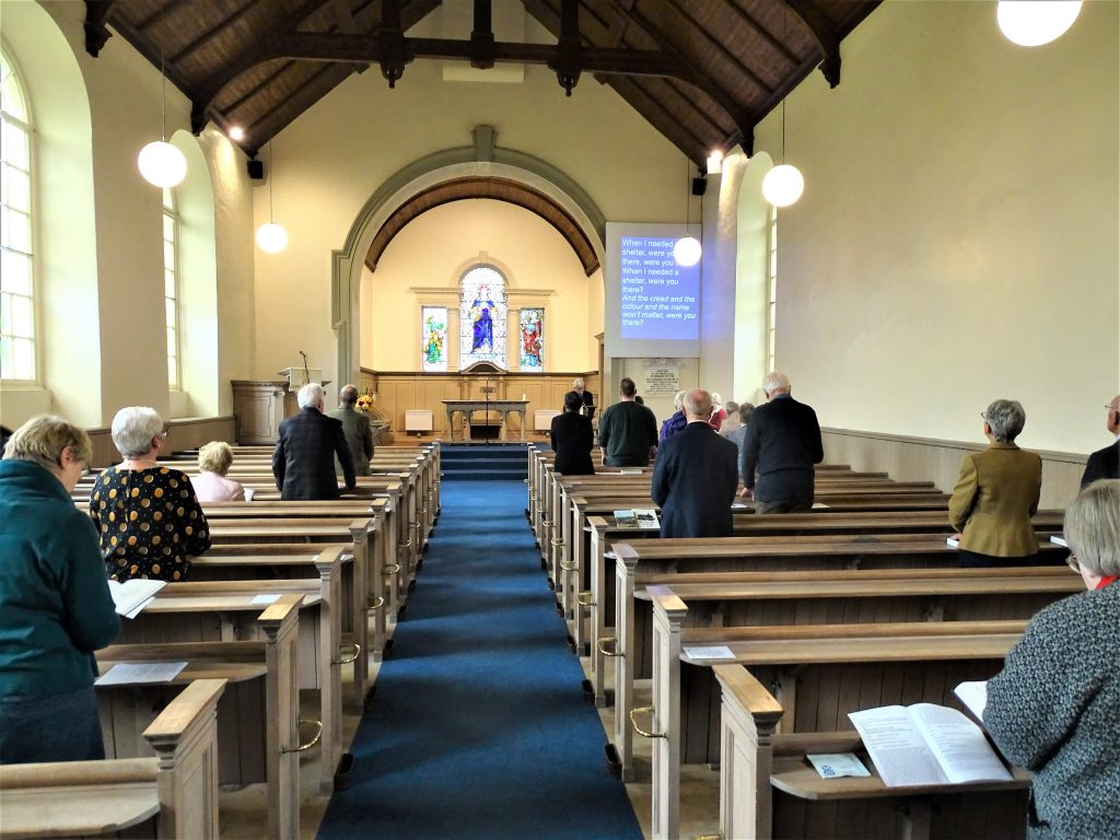 Stichill Church Service